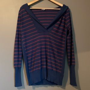 Joie stripped hooded sweater
